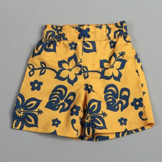 Ixtreme Infant Boy's Hibiscus Swim Shorts FINAL SALE