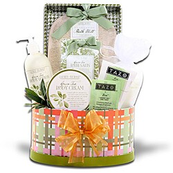 Alder Creek Gift Baskets 'Zen and Tea' Spa Gift Basket