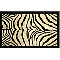 Zebra Safari Accent Rug (2'6 x 3'10)