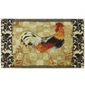 Bergerac Rooster Kitchen Accent Rug (2'6 x 3'10)