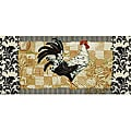 Bergerac Rooster Kitchen Accent Rug (1'8 x 3'9)