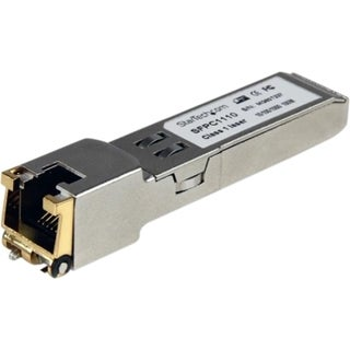 StarTech.com Cisco Compatible Gigabit RJ45 Copper SFP Transceiver Mod