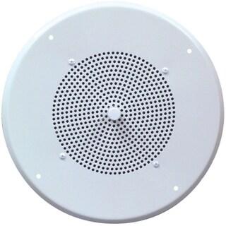Speco G86TCG 10 W RMS - 10 W PMPO Speaker - 1 Pack - White
