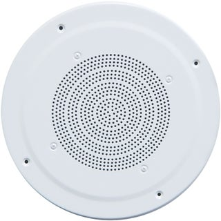 Speco G86TG 10 W RMS - 10 W PMPO Speaker - 1 Pack - White