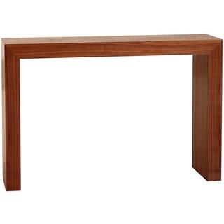 Abbyson Living Marquis Walnut Sofa Table