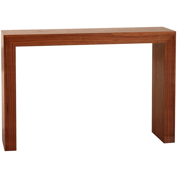 Abbyson Living Marquis Walnut Sofa Table