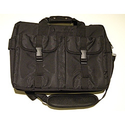 Imagine Eco-Friendly Black Laptop Briefcase