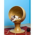 The Refined Feline Kitty Ball 'Bamboo' Bed