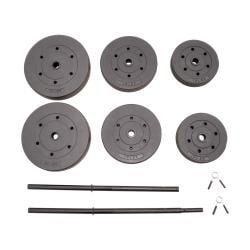 CAP Barbell 100-pound Vinyl Cement Weight Set