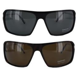 Tourneau Men's TS24 Plastic/ Metal Sunglasses