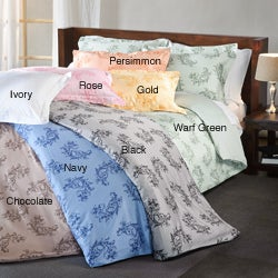 Avron 3-piece Duvet Cover Set