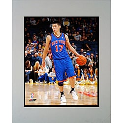 New York Knicks Jeremy Lin Matted Photo