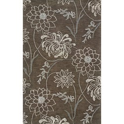 Solano Brown/ Grey Transitional Area Rug (5' x 8')