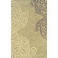 Solano Beige/ Ivory Transitional Area Rug (5' x 8')