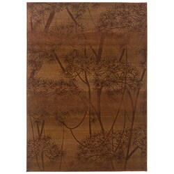 Sydney Rust/ Red Transitional Area Rug (7'10 x 11')
