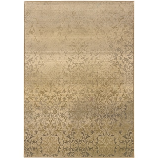 Sydney Beige/ Tan Transitional Area Rug (4' x 5'9)