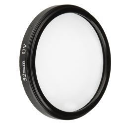 BasAcc 52-mm Black Ultra Violet UV Lens Filter