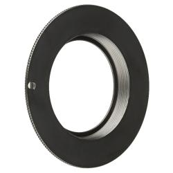 BasAcc Black M42 Lens to Canon EOS EF Camera Adapter Ring