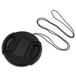 BasAcc 58-mm Black Camera Lens Cap