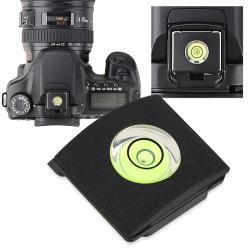 BasAcc Black Camera Flashlight Hot Shoe Spirit Level Cover