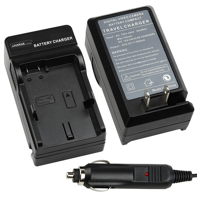INSTEN Compact Battery Charger Set for Nikon EN-EL14