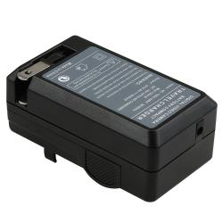 BasAcc Compact Battery Charger Set for Nikon EN-EL14