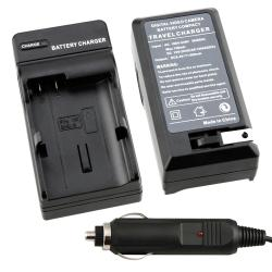 BasAcc Compact Battery Charger Set for Nikon EN-EL15