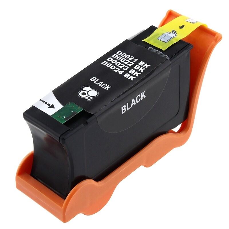 INSTEN Dell compatible 21/ 22/ 23/ 24/ GRMC3/ T093N Black Ink