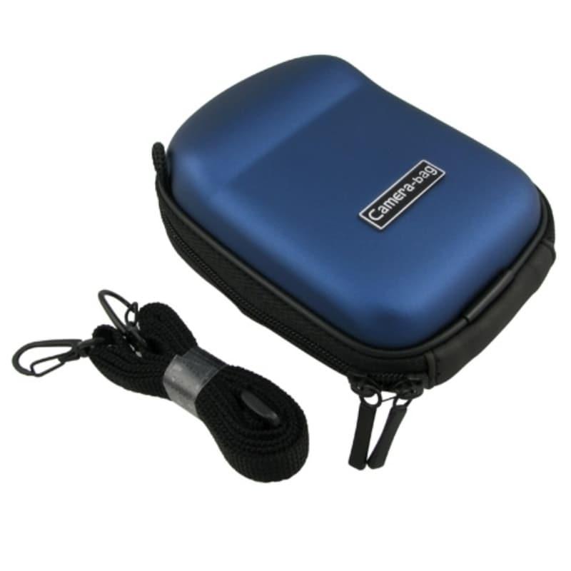 BasAcc Dark-blue Eva Universal Digital Camera Case with Belt Loop