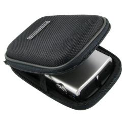 BasAcc Black Heavy-duty Nylon Zippered Universal Digital Camera Case