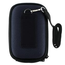 INSTEN Dark-blue Heavy-duty Nylon Universal Digital Camera Phone Case Cover