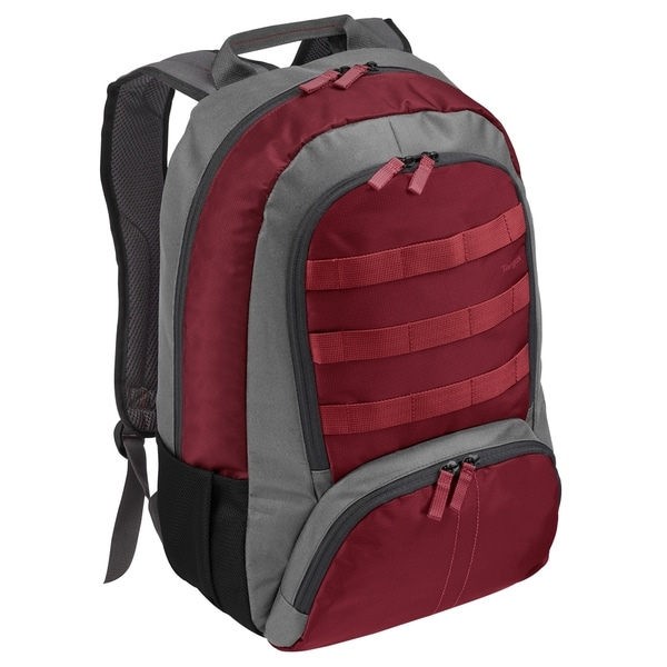"Targus C4 TSB70903US Carrying Case (Backpack) for 16"" Notebook - Red,"