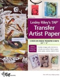 Lesley Riley's Tap, Transfer Artist Paper: 5 Iron-on Image Transfer Sheets 8.5 X 11 (Novelty book)