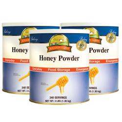 Augason Farms Honey Powder (Pack of 3)