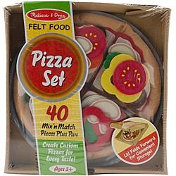 Melissa & Doug Felt Food Set-Pizza