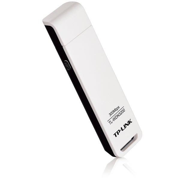 TP-LINK TL-WDN3200 N600 Dual Band Wireless USB Adapter, 2.4GHz 300Mbp