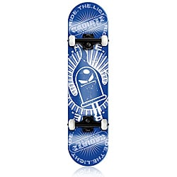 Radiate Skateboard Ride the Light - Blue