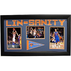 New York Knicks Jeremy Lin 15x35 Cutout Frame