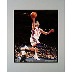 New York Knicks Jeremy Lin Matted Photo 2