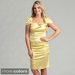 Issue New York Women's Cap Sleeve Dress