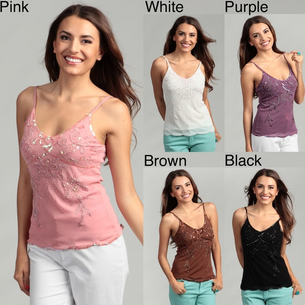Tokyo Collection Women's Embellished Tank Top