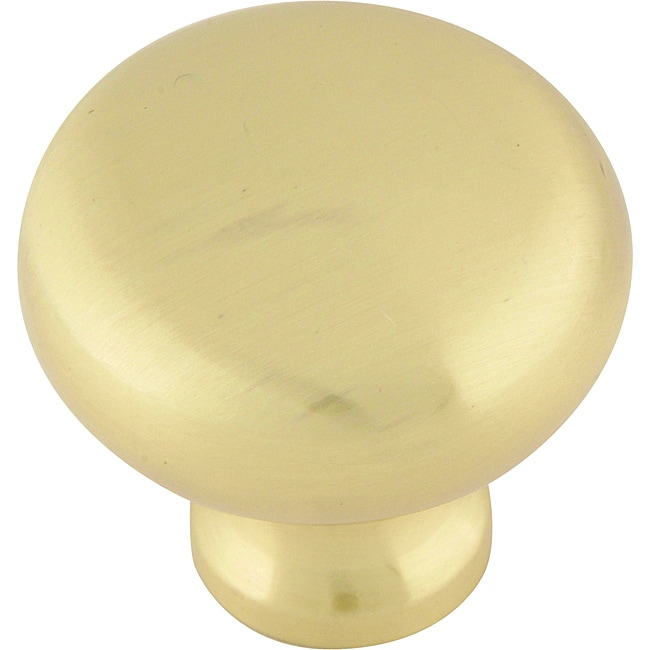 successi collection satin brass 1 25 inch cabinet knobs