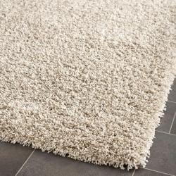 Safavieh Cozy Beige Shag Rug (2'3 x 9')