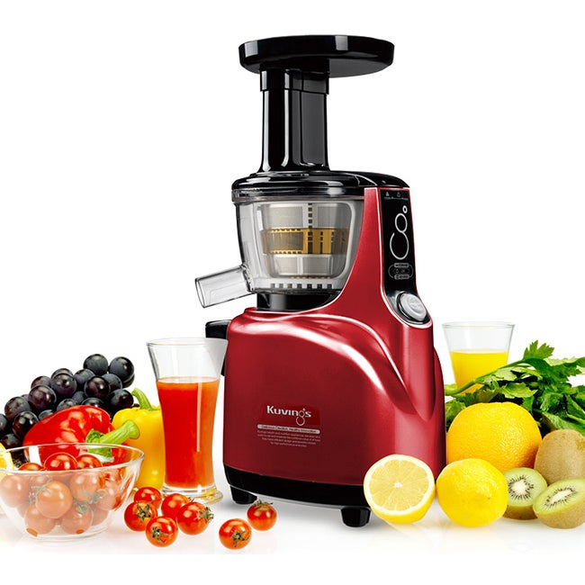 Kuvings NS-940 Burgundy Red Pearl Masticating Silent Slow Juicer - 14213491 - Overstock.com ...