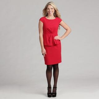 Calvin Klein Women's Cap Sleeve Luxe Dress  FINAL SALE