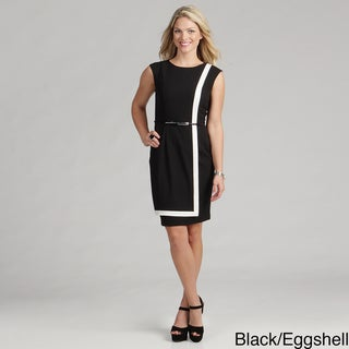 Calvin Klein Women's Sleeveless Luxe Dress