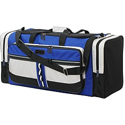 Geoffrey Beene 30-inch Blue Travel Duffle Bag