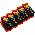 Sophia Global Dell 21 Compatible Color Ink Cartridges (Pack of 5)
