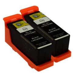 Sophia Global Dell 21 Compatible Black Ink Cartridges (Pack of 2)