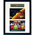 Star Trek The Final Frontier Unique Framed Collectible Stamps
